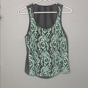 Poof Lace Tank | Size M